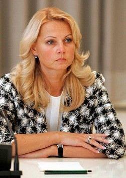 Татьяна Голикова (Tatiana Golikova)
