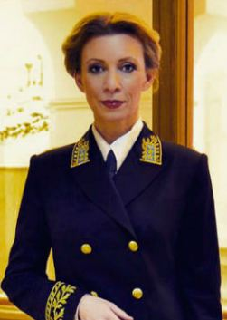 Мария Захарова (Maria Zakharova)