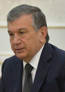 Шавкат Мирзияев (Shavkat Mirziyoyev)